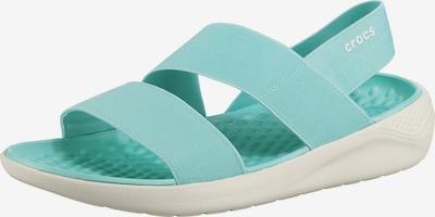 Crocs Literide Stretch Sandal W Komfort-Sandalen in blau, Produktansicht