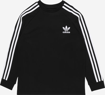 ADIDAS ORIGINALS Shirt '3 Stripes' in schwarz / weiß, Produktansicht