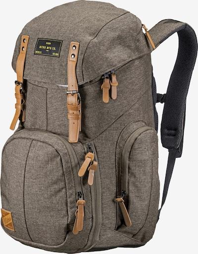 NitroBags Daypack in hellbraun / braunmeliert, Produktansicht