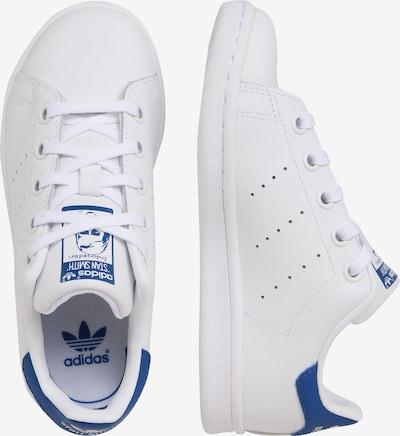 ADIDAS ORIGINALS Schuhe 'STAN SMITH C' in blau / weiß: Seitenansicht