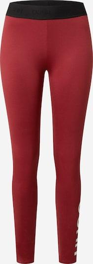 HUGO Kalhoty 'Delessie' - červená / černá, Produkt