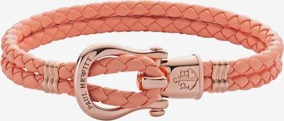 Paul Hewitt Armband in rosegold / koralle, Produktansicht