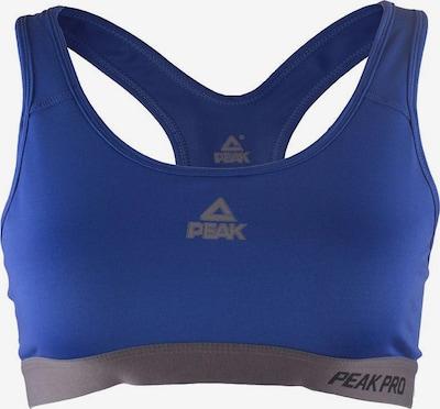 PEAK Sport-BH mit extra viel Halt in blau, Produktansicht