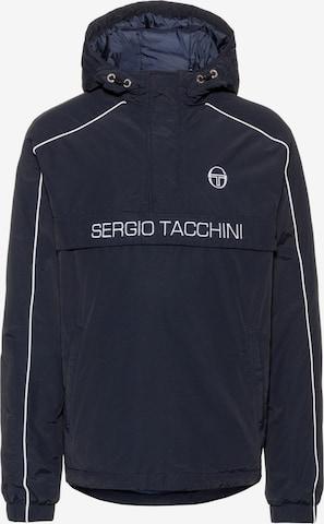 Sergio Tacchini Windbreaker 'Dabou' in Schwarz