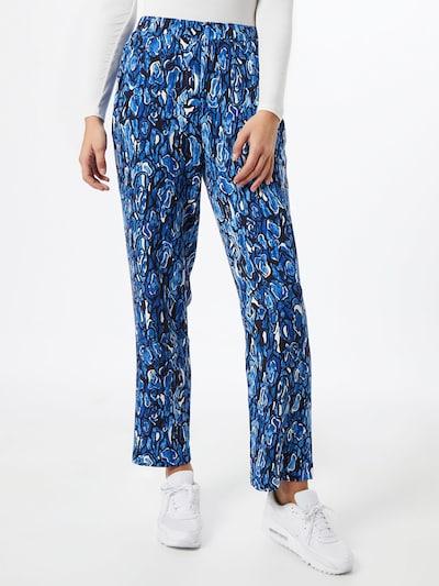 Moves Kalhoty 'Pynni' - modrá / černá / bílá, Model/ka