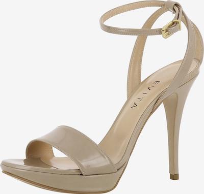 EVITA Sandalette 'VALERIA' in beige: Frontalansicht