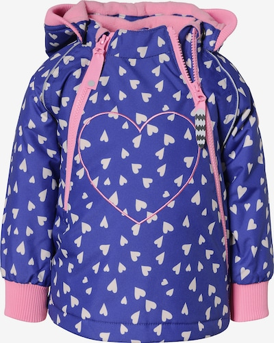 Racoon Outdoor Outdoorjacke 'Desna' in blau / rosa, Produktansicht