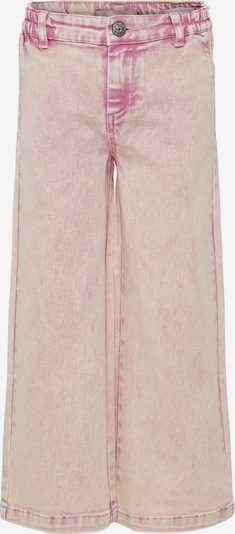 KIDS ONLY KONLisa Wide Colored Cropped Jeans in pink, Produktansicht
