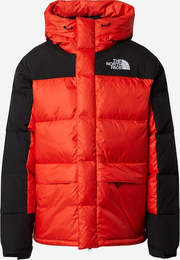 THE NORTH FACE Outdoorjas 'M HMLYN DOWN PARKA' in de kleur Rood / Zwart, Productweergave