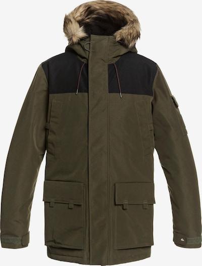 QUIKSILVER Outdoorjacke in khaki / schwarz, Produktansicht