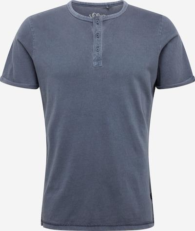s.Oliver T-Shirt en bleu-gris, Vue avec produit