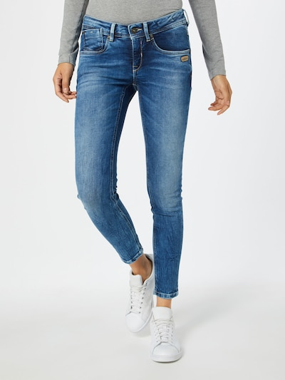 Gang Jeans 'Faye' in blue denim, View model