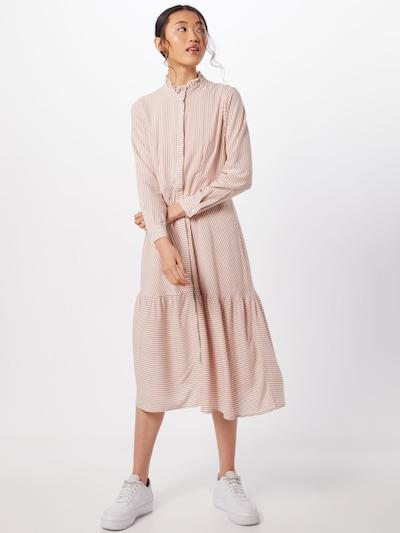 Y.A.S Kleid 'YASSANNE' in beige / weiß: Frontalansicht