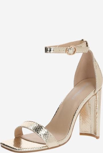 GLAMOROUS Sandale in gold, Produktansicht