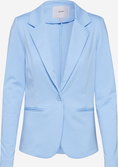 ICHI Sweat-Blazer 'Kate' in hellblau, Produktansicht