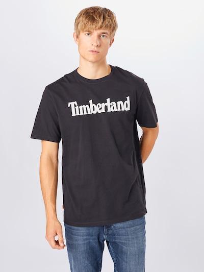 TIMBERLAND Shirt in schwarz / weiß, Modelansicht
