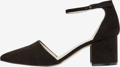 Bianco Slingback pumps 'Divived D'orsay' in black, Item view