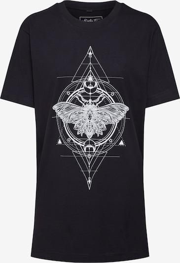 Merchcode T-Krekls 'Ladies Moth' pieejami jauktu krāsu / melns, Preces skats