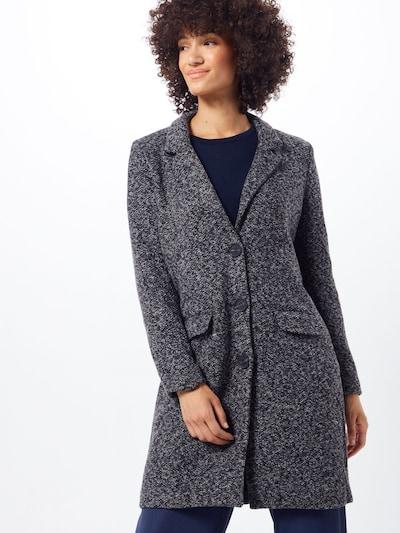 JACQUELINE de YONG Between-seasons coat 'BESTY' in Grey mottled, View model