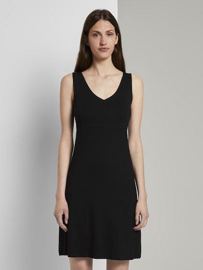 TOM TAILOR Kleid in schwarz, Modelansicht