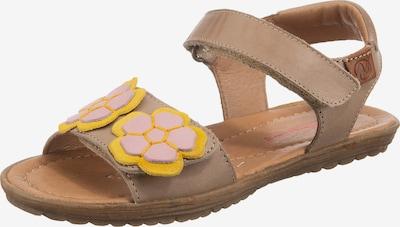 NATURINO Sandale 'Begonia' in beige, Produktansicht