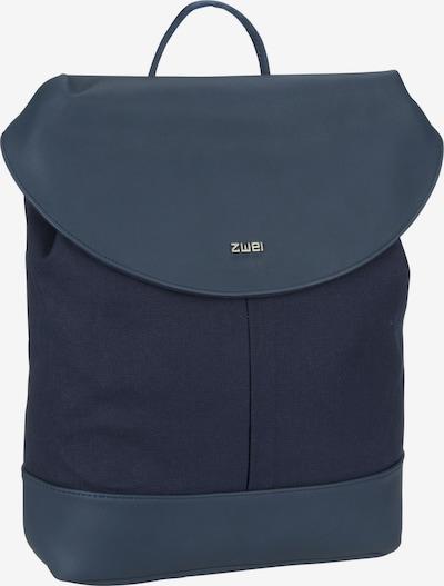 ZWEI Rucksack / Daypack ' Paula PAR120 ' in blau, Produktansicht
