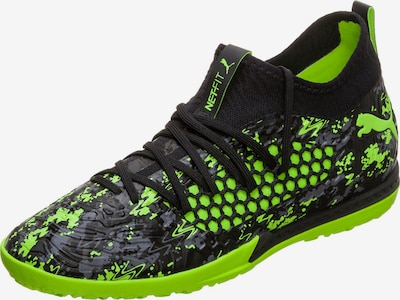 PUMA Soccer Cleats in Neon green / Black, Item view