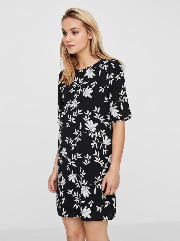 VERO MODA Lässiges Kleid mit kurzen Ärmeln
