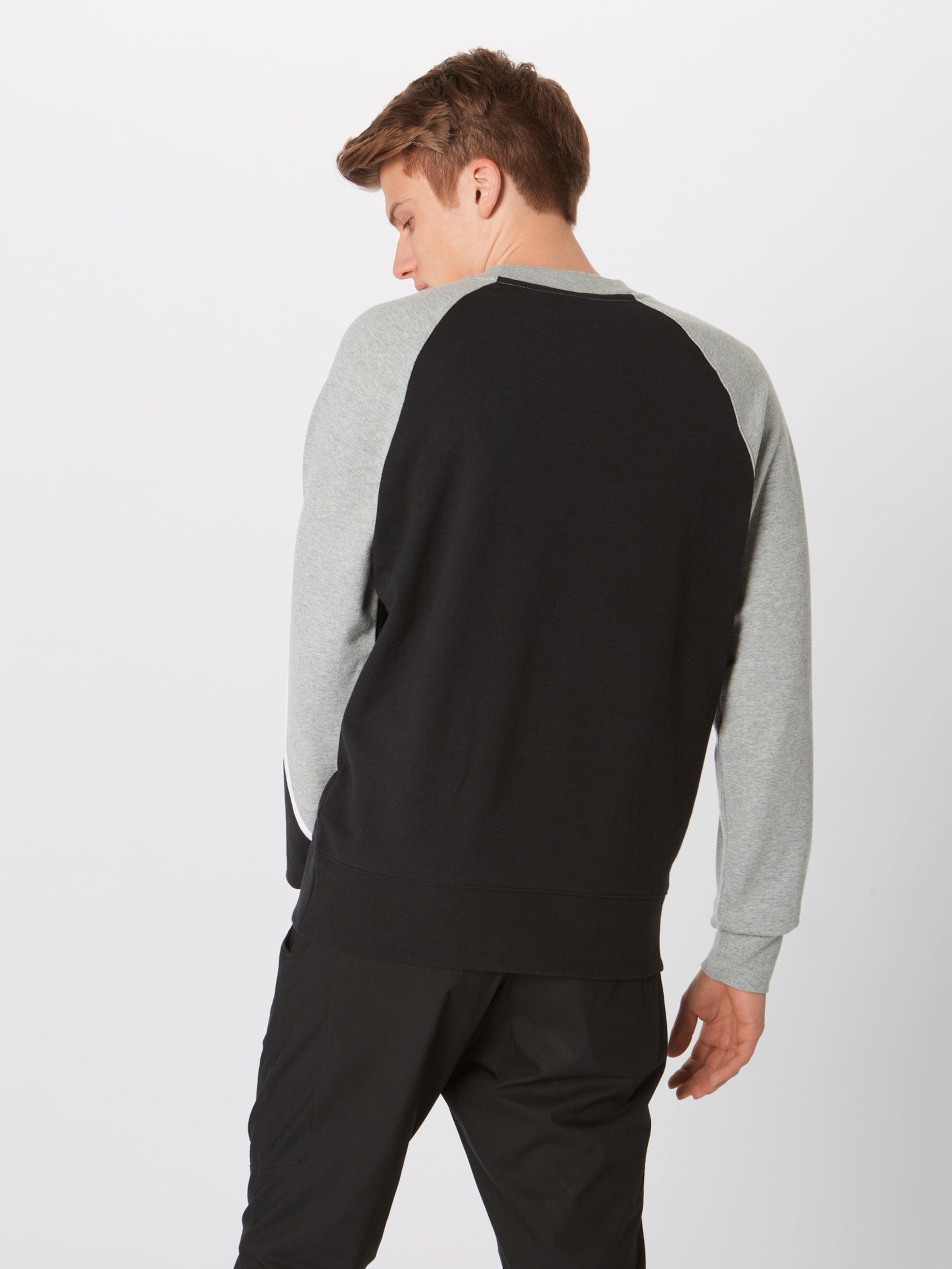 Sportswear shirt GrisNoir Sweat Nike Blanc En Ygb7yf6