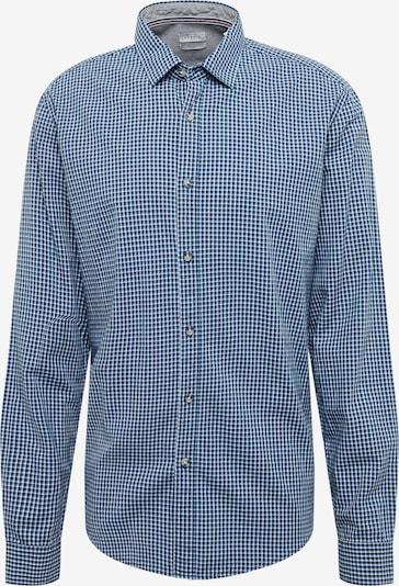 ESPRIT Overhemd 'indigo check ls' in de kleur Smoky blue, Productweergave