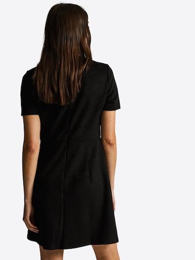 Trumpa kokteilinė suknelė 'BLK SUEDE PCKT SHIFT' iš Dorothy Perkins , spalva - juoda: Vaizdas iš galinės pusės