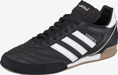 ADIDAS PERFORMANCE Voetbalschoen 'Kaiser 5 Goal' in de kleur Zwart / Wit, Productweergave