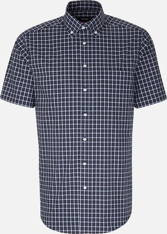 Overhemd In Wit Seidensticker Donkerblauw Olijfgroen TfXppq