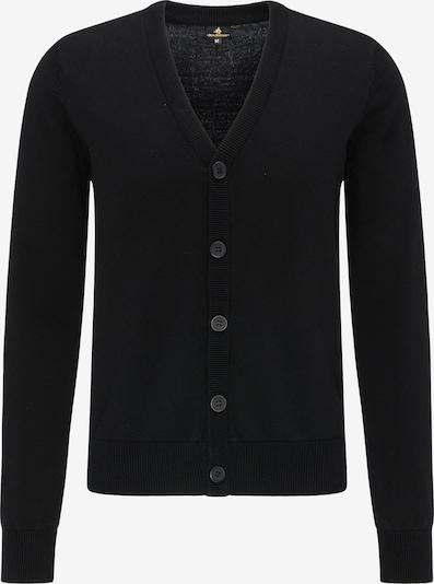 DREIMASTER Vestes en maille en noir, Vue avec produit