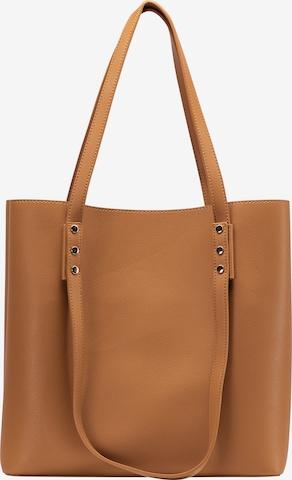 Usha Shopper in Brown