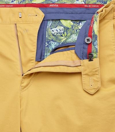 Meyer Hosen Hose 'Oslo' in gelb, Produktansicht