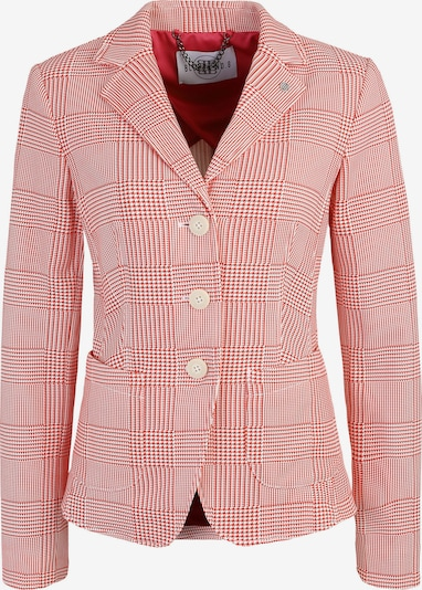 BLONDE No. 8 Blazer 'CANNES CHECK' in hellpink: Frontalansicht