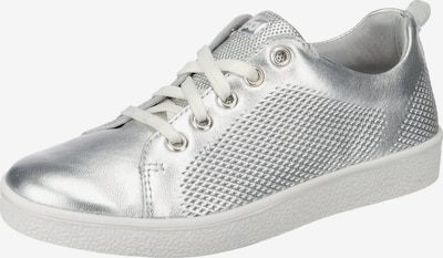 RICHTER Sneakers in silber: Frontalansicht