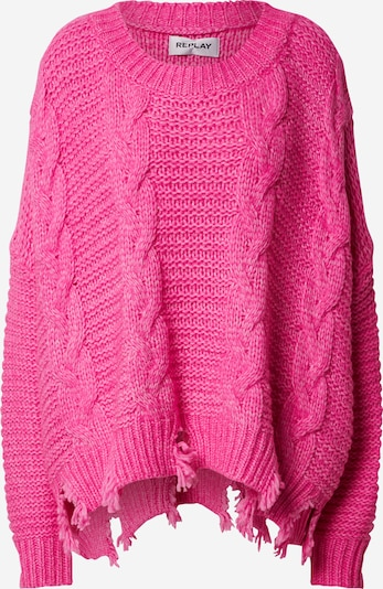 REPLAY Pullover in pink, Produktansicht