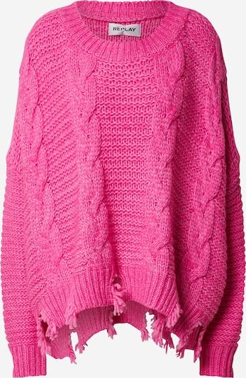 REPLAY Sweter w kolorze różowym, Podgląd produktu