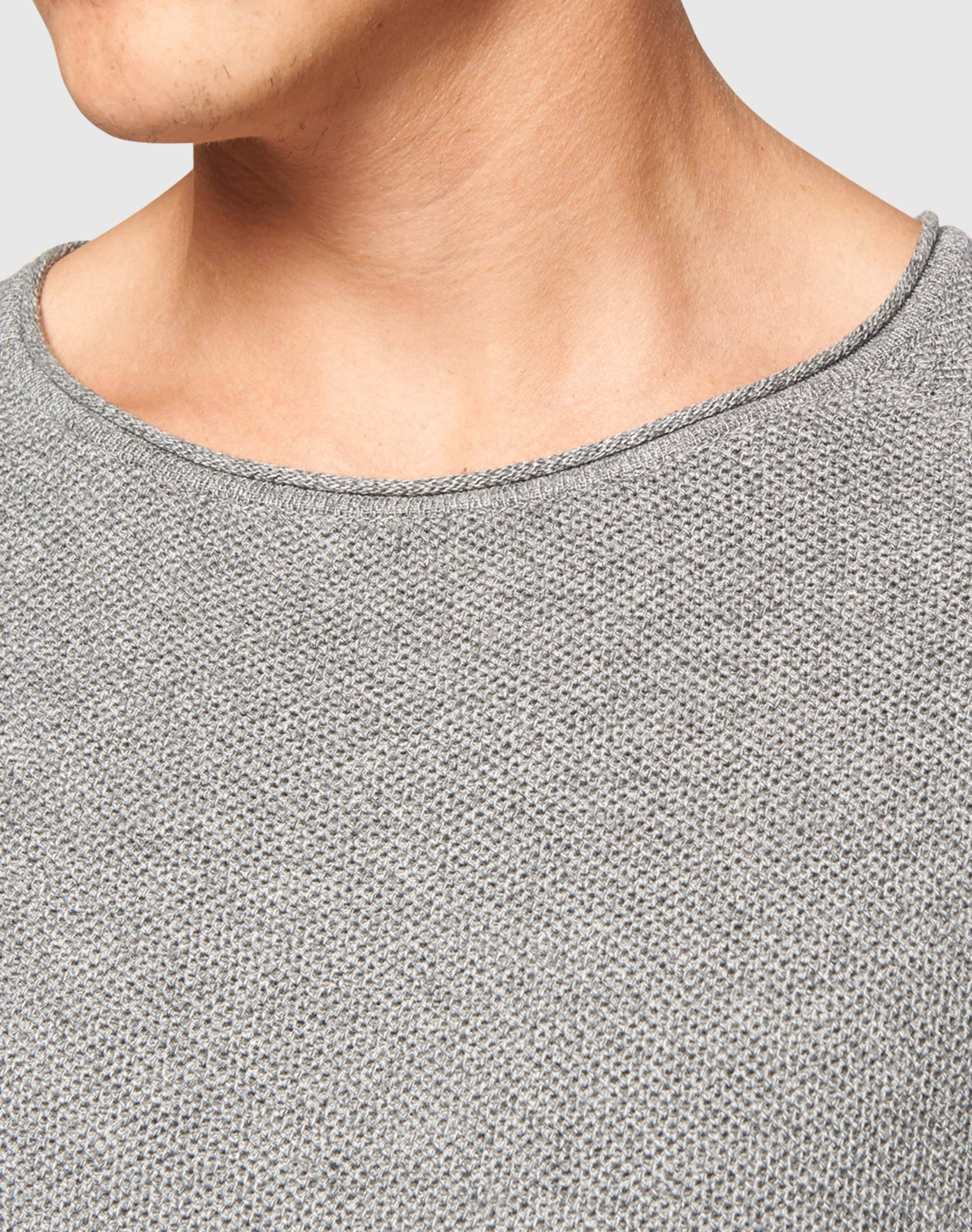 Chiné Pull En Nowadays 'honeycomb' over Gris QshdtrCx