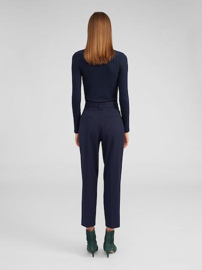 Kelnės su kantu 'Bobby' iš EDITED , spalva - nakties mėlyna: Vaizdas iš galinės pusės