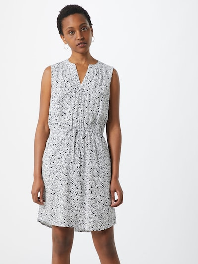 GAP Kleid 'V-SL SHIRT DRESS' in mischfarben / weiß, Modelansicht