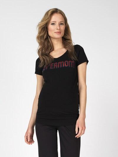 Supermom T-shirt ' Supermom ' en noir: Vue de face