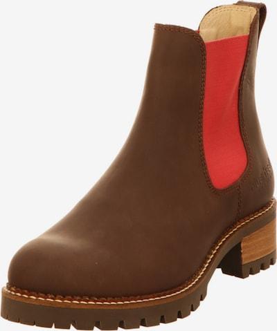 Blue Heeler Stiefelette in braun / rot, Produktansicht
