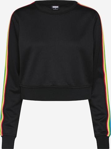 Urban Classics Sweatshirt in Schwarz
