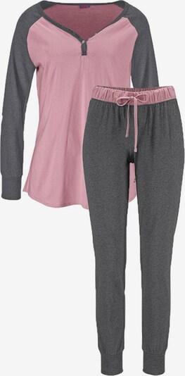 BUFFALO Pyjama in grau / rosa, Produktansicht