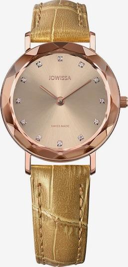 JOWISSA Quarzuhr 'Aura' Swiss Ladies Watch in gelb / rosegold, Produktansicht