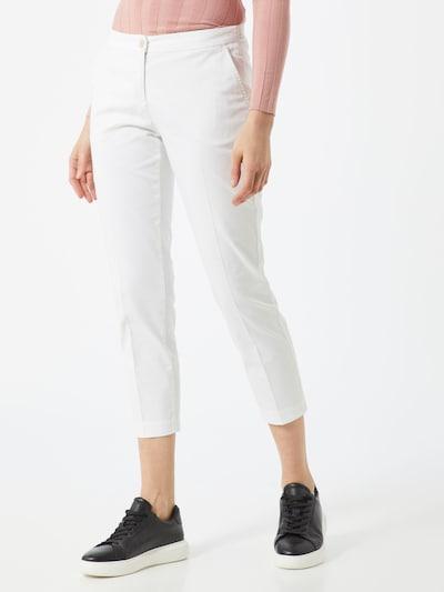 BRAX Chino 'Maron' in de kleur Zilver / Wit, Modelweergave