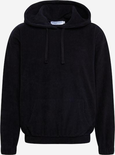 NU-IN Sweatshirt 'Oversized Towelling Hoodie' in de kleur Zwart, Productweergave